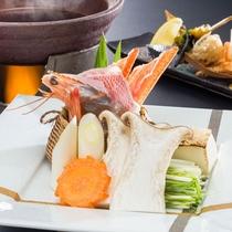 新鮮な海鮮をすき焼きで♪お肉とは違った趣でgood!