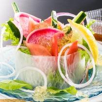 料理長おすすめ地野菜サラダ(追加注文)