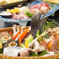 【海鮮焼き】BBQ感覚で焼きながら食べられます♪