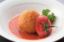 トマトの満月揚げ