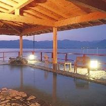 湖上露天風呂:朝陽2