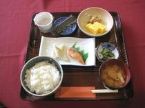 朝食「和定食の一例」