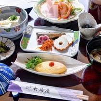 *ご朝食一例/彩り豊かな旅館の朝ごはんは栄養バランスも◎一日の元気をチャージしよう!