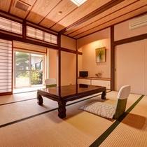 *和室8畳(バストイレなし)/畳の香りがほのかに薫るお部屋でのんびりとお寛ぎ下さい。