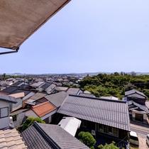 *お部屋からの景観/出雲の街並みを遠くまで見渡せます。