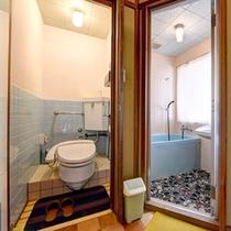 *和室8畳(客室一例)/バス&トイレを完備いたしております。