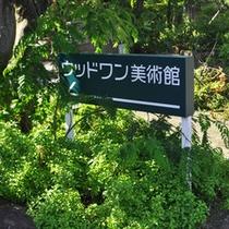 森林・小川・澄んだ空気の中で、多くの美術品をご鑑賞いただけます。