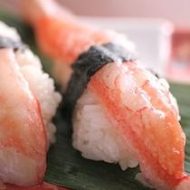 かに にぎり寿司