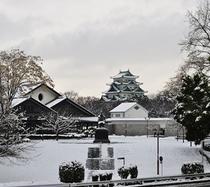【近隣】名古屋城(冬)徒歩5分