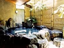 【紅梅の湯】外には露天風呂がついています。