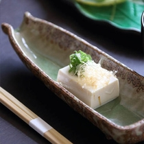 自家製辛子豆腐