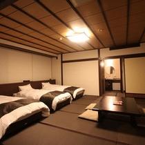 2015年3月改装 弐の棟・和室モダンルーム44平米(トリプルベット)
