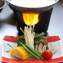豆乳野菜しゃぶしゃぶ