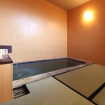 源泉かけ流し貸切風呂「畳敷の湯」