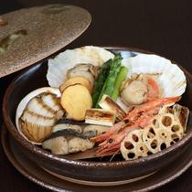 【選べるメイン鍋物チョイス】海鮮宝楽焼
