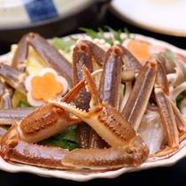 【選べるメイン鍋物チョイス】蟹ちり鍋(蟹すき鍋)