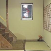 客室イメージ:階段