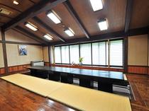 【炉端】宴会用の広いお食事スペースもございます。