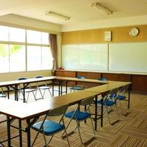 *【館内/交流室】大・中・小の3部屋があり、会議や勉強会などにご利用いただけます。