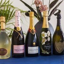 *【シャンパン】ロゼ、ドンペリ等各種取り揃えてございます。