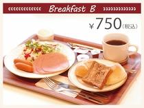 洋朝食750円(税込)~