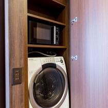 長期滞在にお薦め!客室に電子レンジ、洗濯機を完備~レジデンスツインのみ~