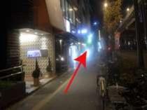 上野駅「入谷改札」からの道案内⑦道沿いをそのまま真っ直ぐ行きます。