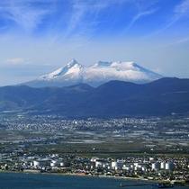 晴れた日の駒ヶ岳
