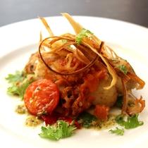 コースのお料理は季節やその時々で美味しいモノをお出しします!※画像は一例※