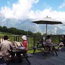 山頂レストラン「ALPS 360」