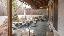 露天風呂(白樺の湯)