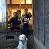 日本テレビZIPでおなじみ「青空キャラバン」の取材風景