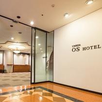 ホテル入口(3階)