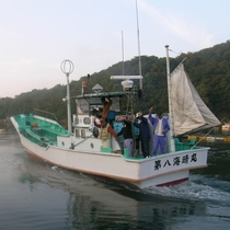 釣り船・第八海晴丸