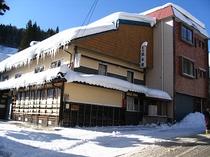 冬の坂本屋