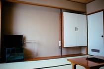 8畳和室 テレビエリア