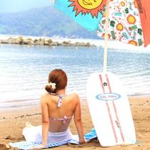 夏休みは海とグルメを一人占め♪