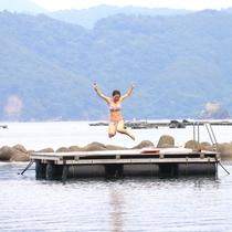 海水浴場徒歩2分☆飛び込み台設置/(^o^)/