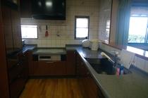 大広間のキッチン