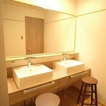 【内湯付き特別室】洗面所