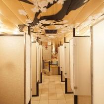 大浴場(女性)シャワーブース