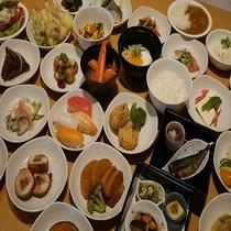 ◆夕食バイキング 一例◆