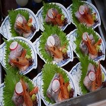 ◆夕食バイキング お刺身◆