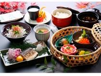 会席料理(朝食)