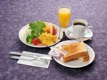 洋朝食例(内容は変わることがあります)