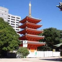 東長寺五重塔