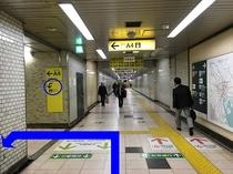 ②駅からのアクセス
