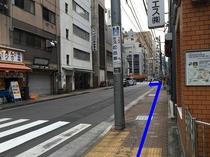 ④駅からのアクセス