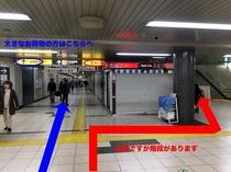 ①駅からのアクセス