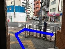③駅からのアクセス